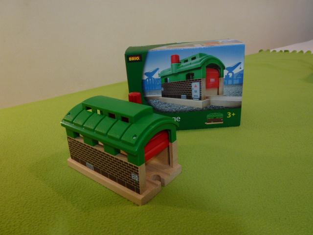 33574 Lokomotywownia - tunel z opuszczanymi drzwiami