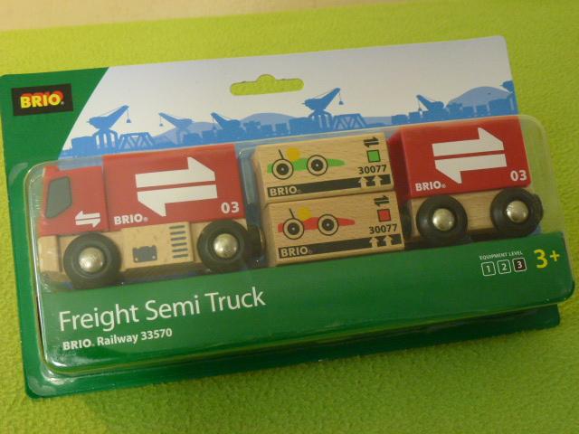 33570 Ciężarówka z przyczepą