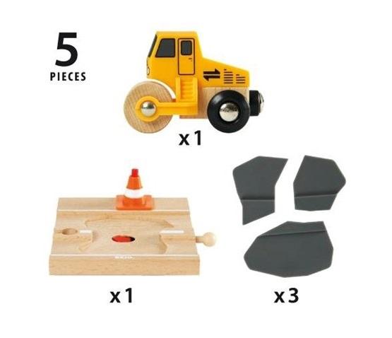 33718 Układanie asfaltu - makieta drogowa