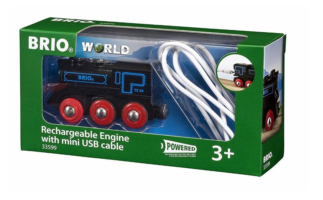 33599 Lokomotywa ładowana USB - rewelacyjna do tras górskich i krętych