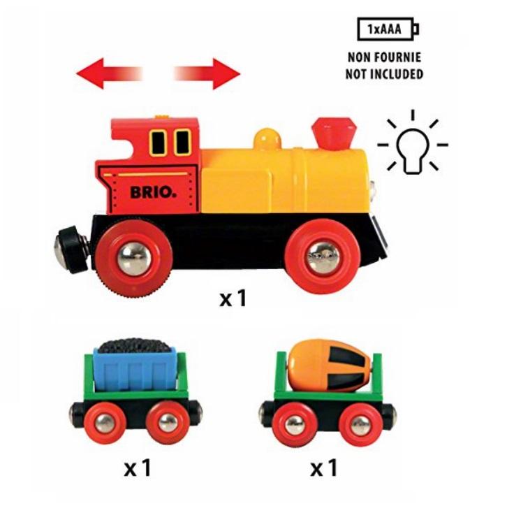 33319 Pociąg towarowy - elektryczny z ruchomymi wagonikami