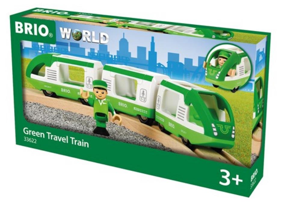 33622 Zielony pociąg pasażerski SKM