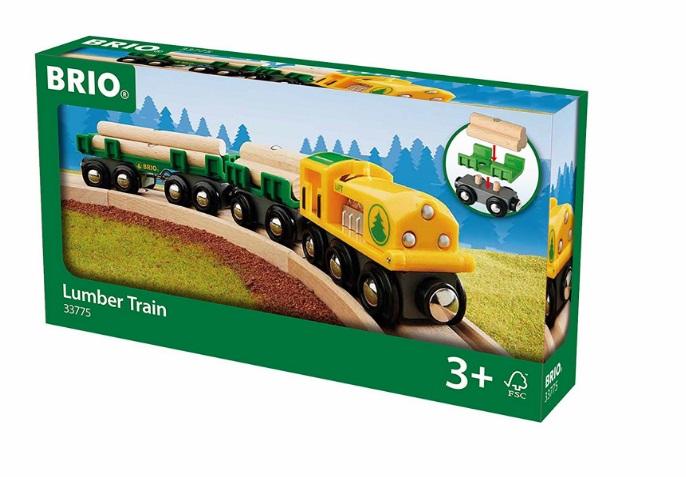 33775 Pociąg leśny drwala