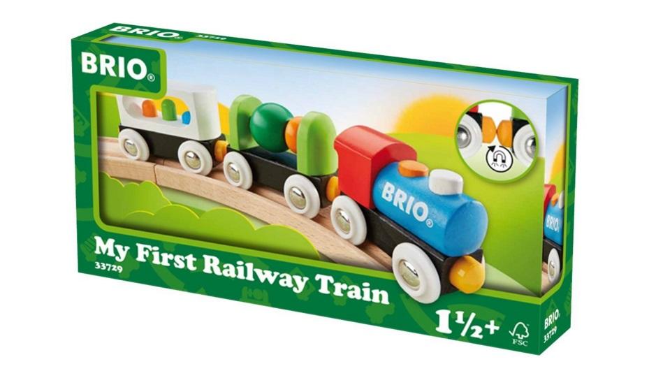 33729 Pociąg maluszka do torów drewnianych