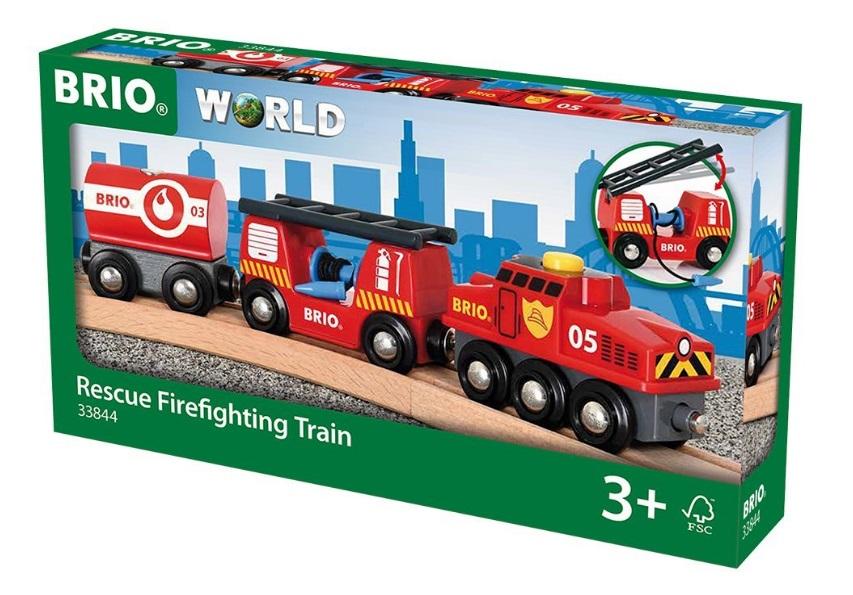 33844 Pociąg pożarowy z lokomotywą automatyczną
