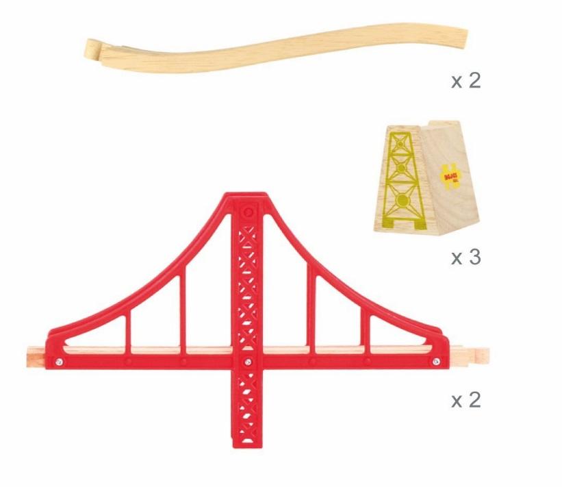 BJT136 Golden Gate - wiszący most czerwony