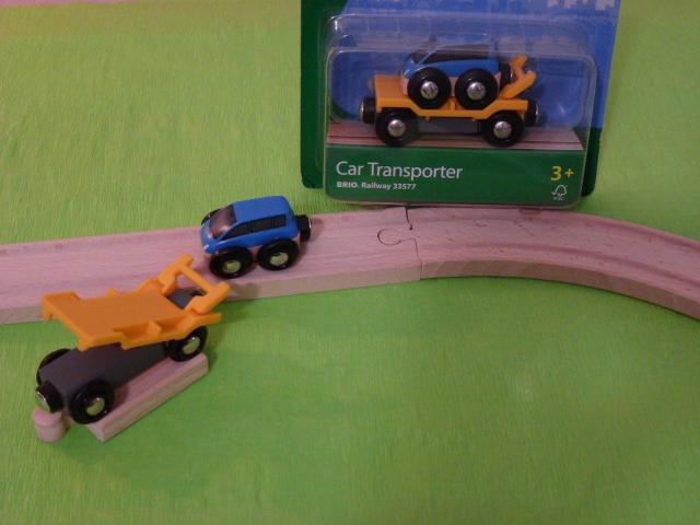33577 Laweta do transportu autek z rampą