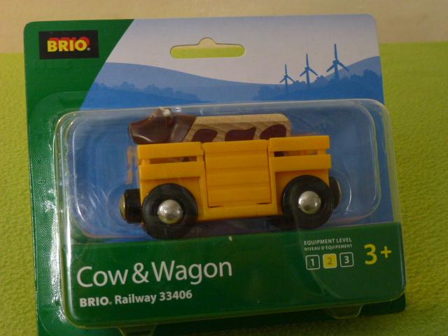 33406 Wagon do transportu zwierząt z krową