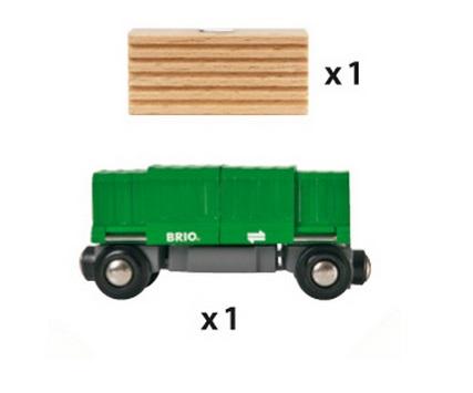 33561 Wagon kontenerowy - otwierany