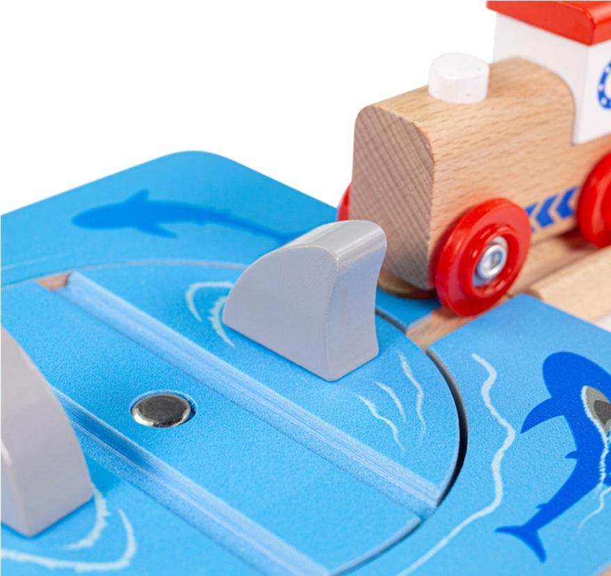 BJT227 Kładka dla pieszych nad dużą linią kolejową