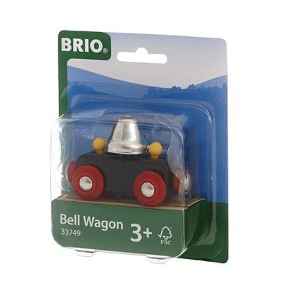 Brio Wagon z dzwonem ostrzegawczym