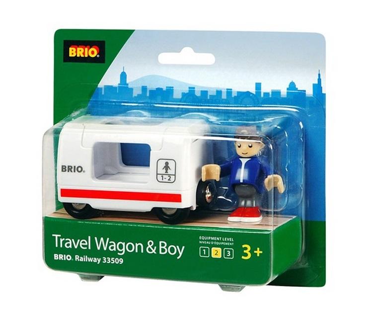33509 Wagon z pasażerem