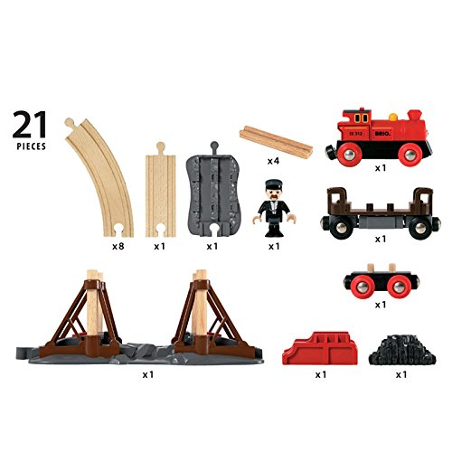 33030 Konstrukcyjny zestaw budowy mostów kolejowych elektryczny