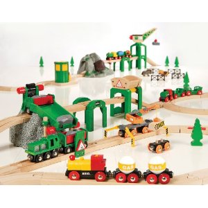 33044 Luksusowy zestaw kolejowy - Deluxe