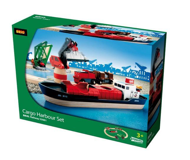 33061 Port przeładunkowy - Wielka makieta ze statkiem