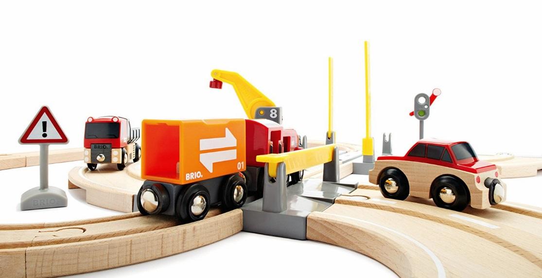 33208 Zestaw drogowo-kolejowy z dźwigiem