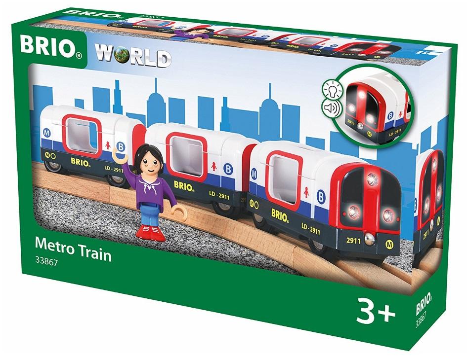 33867 Metro, pociąg światło i dźwięk białe