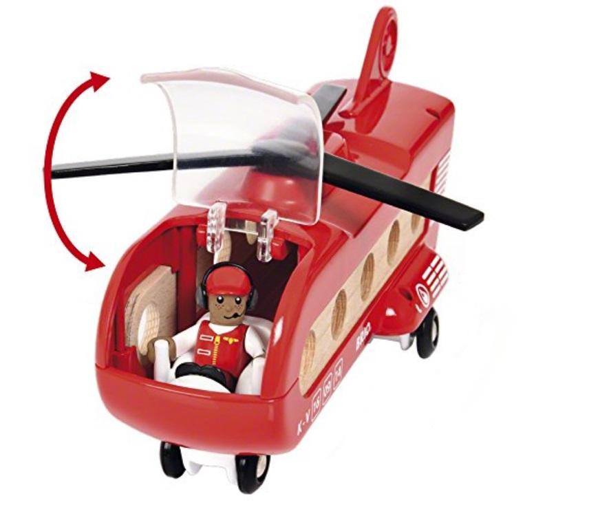 33886 Helikopter transportowy kolejowy