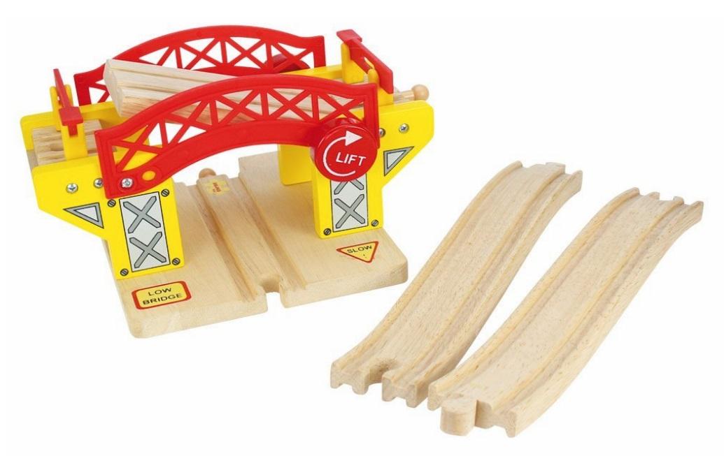 BJT189 Most zwodzony nad torami kolejowymi
