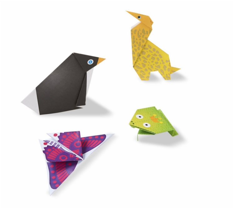 19442 Zestaw do origami zwierzątka