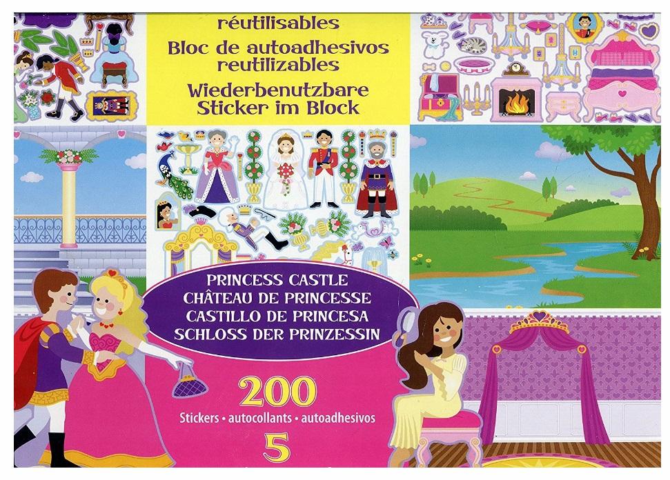 14306 Bezklejowe, foliowe nalepki wielorazowe 306+ karty pracy