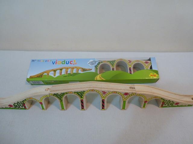 BJT193 Wiadukt kolejowy - długi most