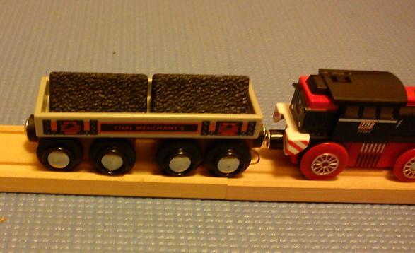 BJT408 Wagon towarowy na dowolne ładunki + pakiety węgla