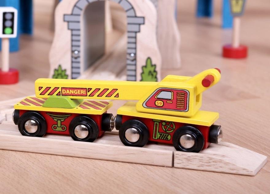 BJT416 Wagon z dźwigiem
