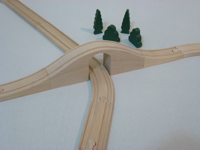Most drewniany - Solidny