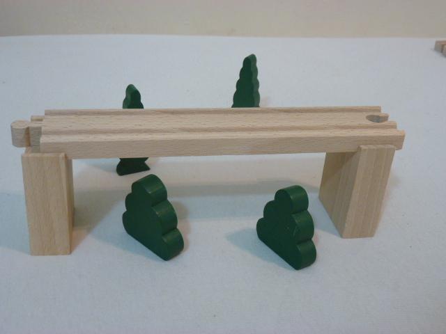 Podpory do mostów i wiaduktów - zestaw 2 szt.