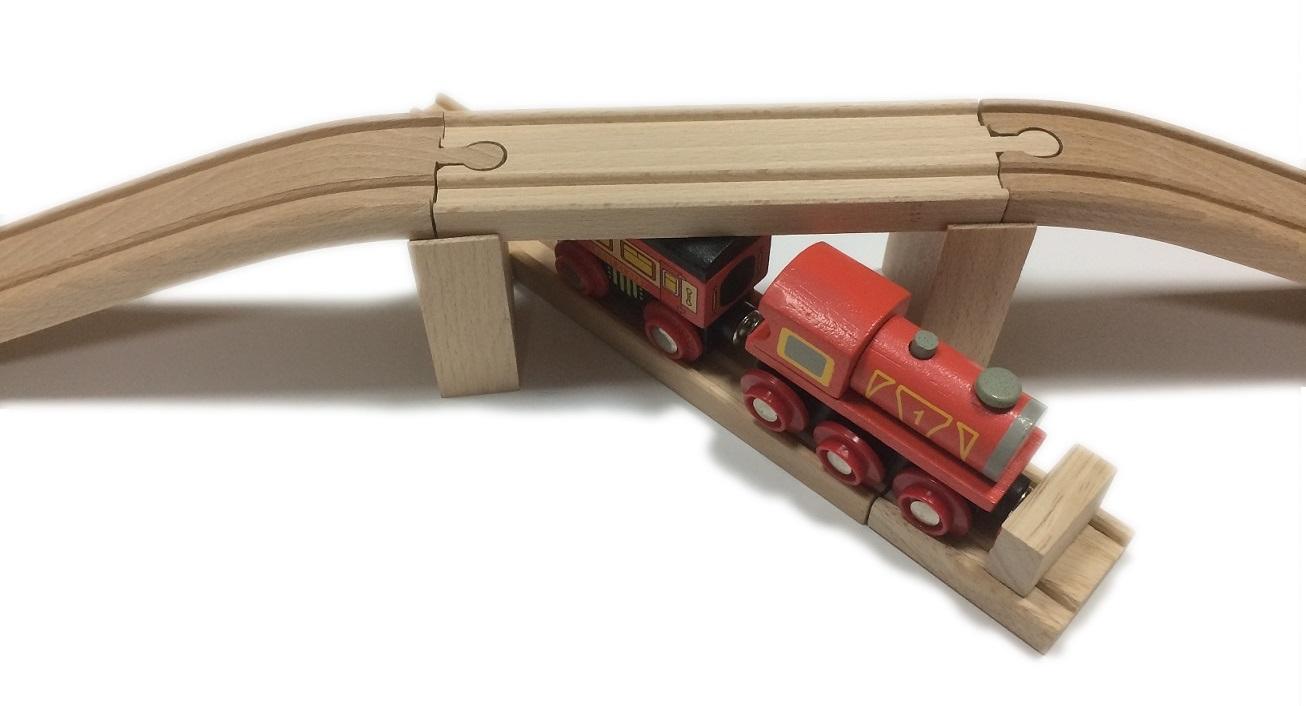 Wiadukt 50 cm, drewniany