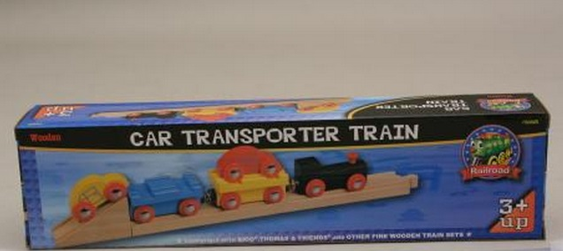 50825 Pociąg do transportu samochodów wraz z torami i rampą