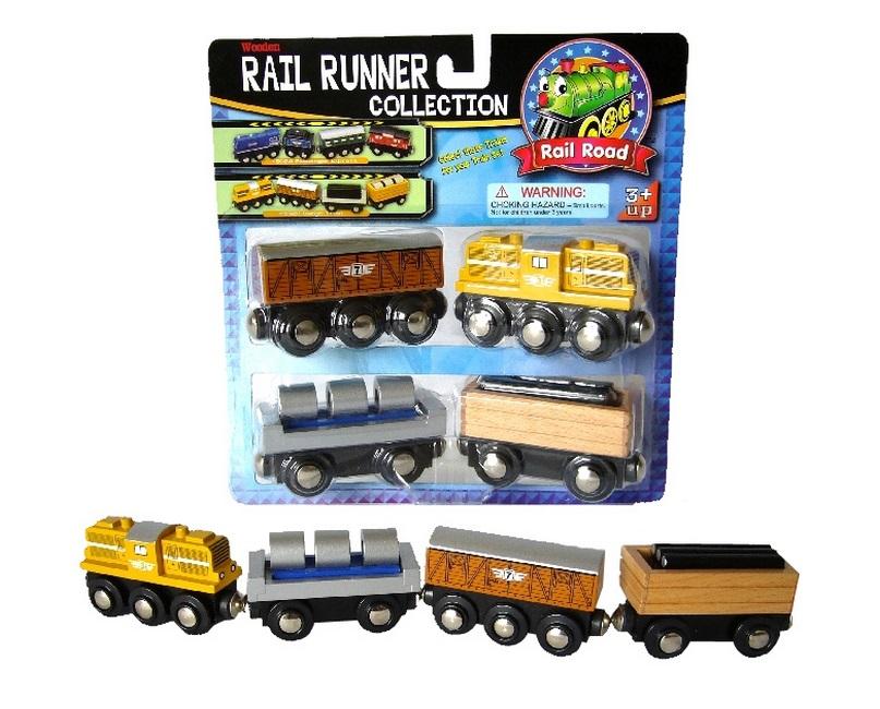 50211 Pociąg towarowy z wagonem z walcami