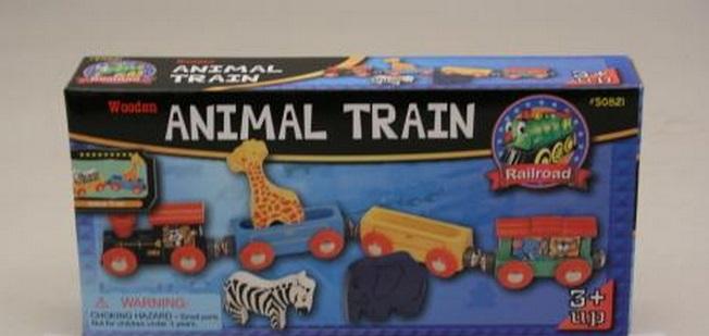 50821 Pociąg zwierzątek safari z żyrafą