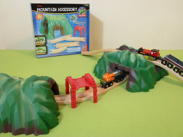50413 Kolejka górska - podwójny tunel