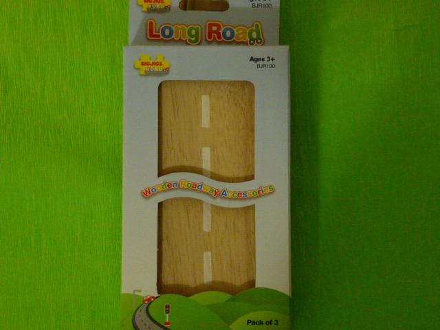 BJT140 Długa, prosta droga drewniana - zestaw (3)