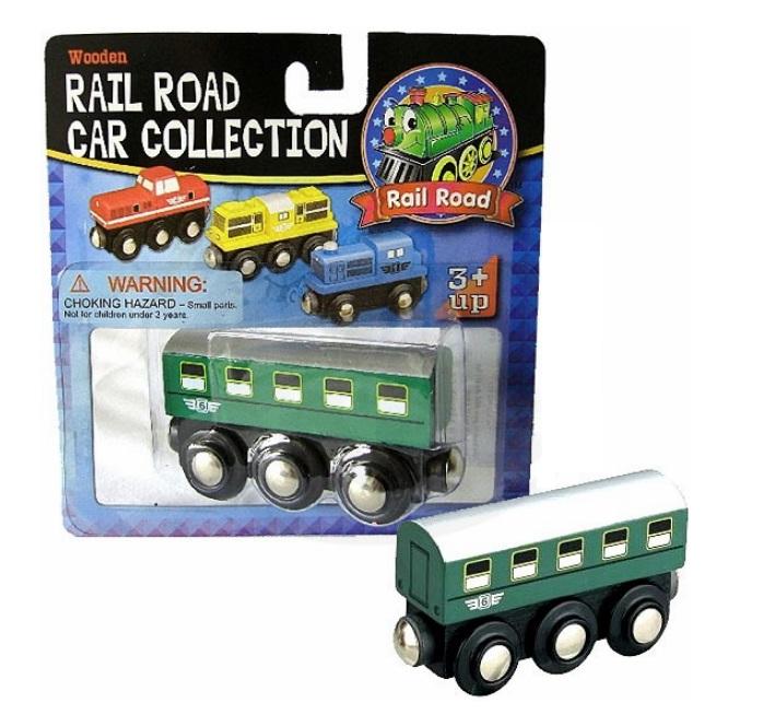 50817 Klasyczny wagon pasażerski PKP, drewniany