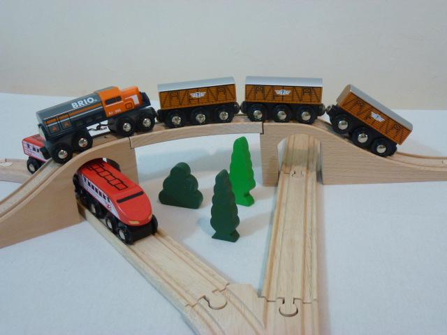 50818 Wagon towarowy - drewniany