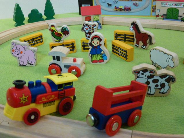9536 Wielki zestaw z kolejką elektryczną - farmerski