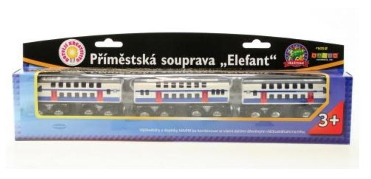 50512 Piętrowy pociąg podmiejski typu pendolino