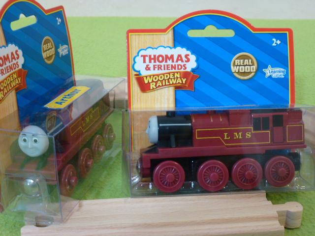 Artur - lokomotywa z serii Tomek i przyjaciele