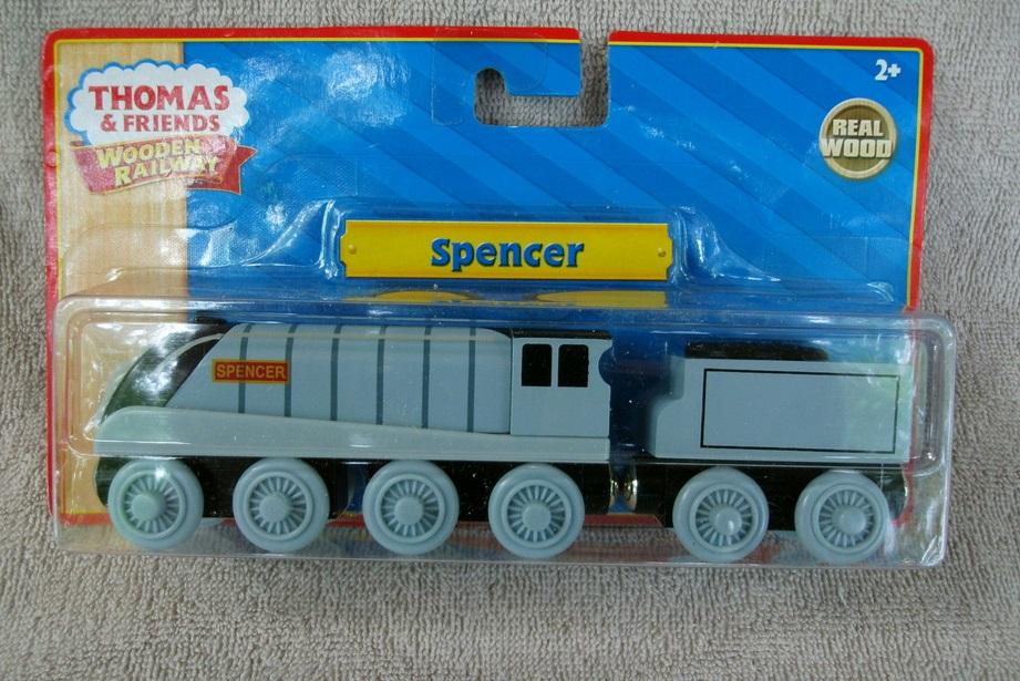 Szymek (Spencer) szybka lokomotywa z serialu Tomek i przyjaciele