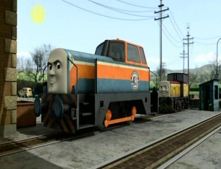 TRACH - Lokomotywa drewniana - Tomek i przyjaciele