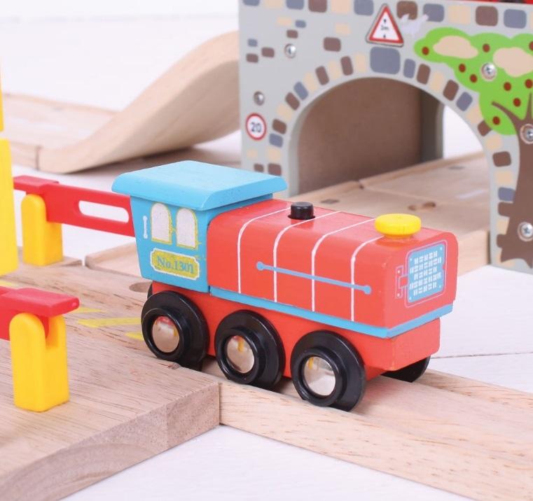 BJT462 Drewniana lokomotywa elektryczna