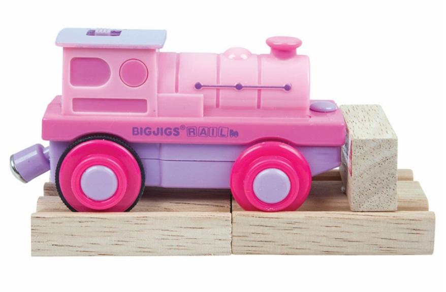 BJT305 Różowa lokomotywa elektryczna