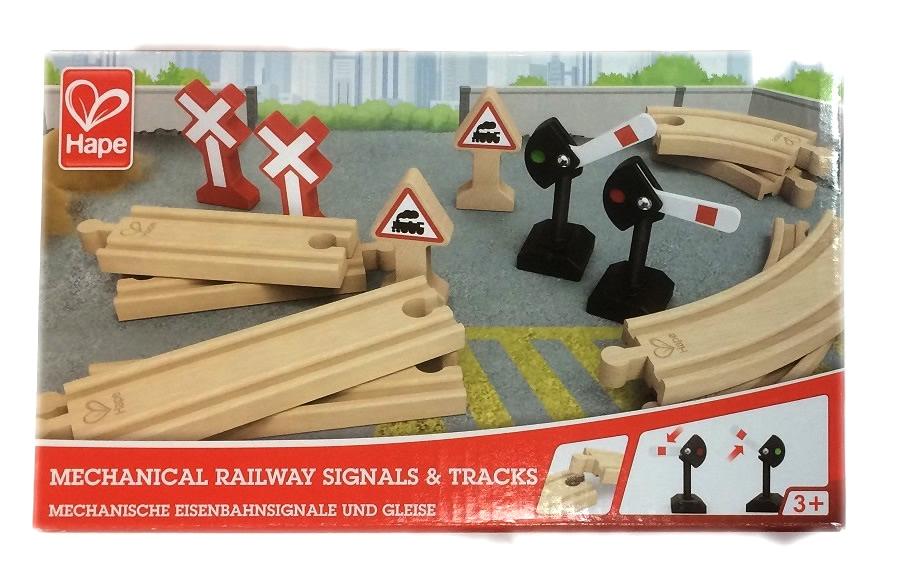 3724 Zestaw semaforów i torów kolejowych