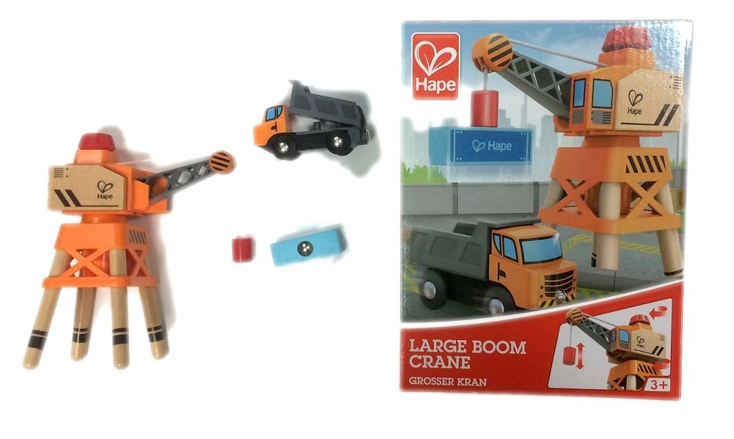 3715 Dźwig przeładunkowy z ciężarówką