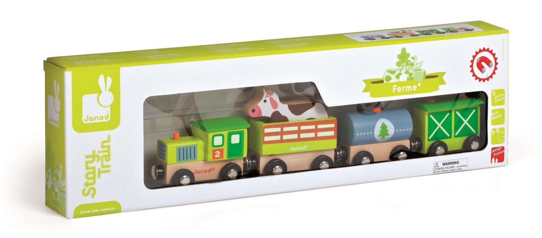 J08532 Pociąg farmera z krową