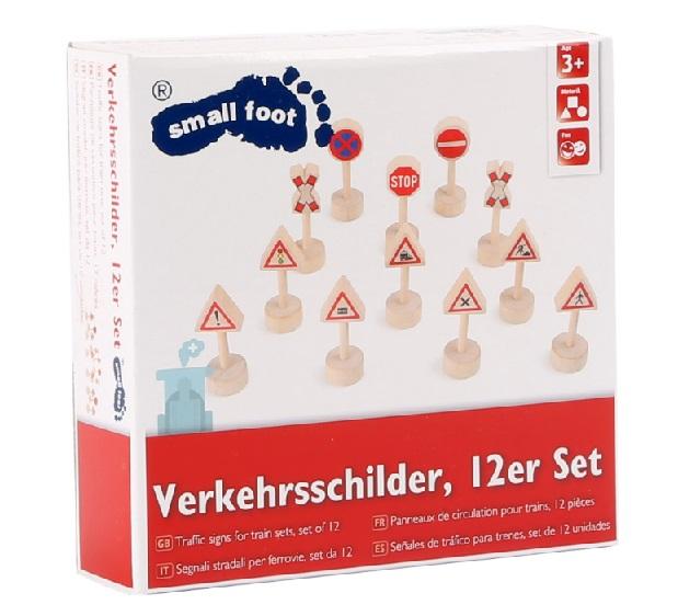 10331 Znaki drogowe drewniane Small foot