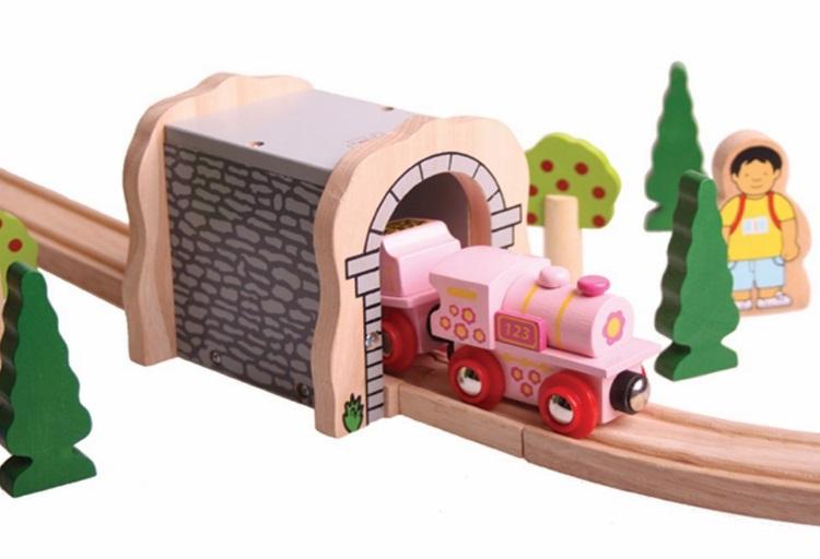BJT412 Różowa lokomotywa ABC